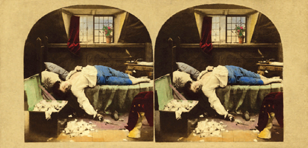 Michael Burr: The Death of Chatterton (1861)